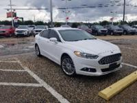 Oxford White 2014 Ford Fusion SE FWD 6-Speed Automatic