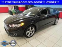 ONE OWNER, SUNROOF, Fusion SE, 4D Sedan, EcoBoost 1.5L