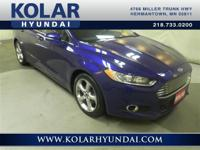2014 Ford Fusion SE  6-Speed Automatic, Clean Auto
