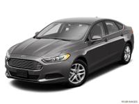 Recent Arrival! 2014 Ford Fusion SE 4D Sedan FWD