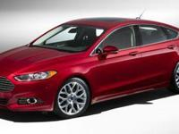 This SILVER 2014 Ford Fusion SE might be just the sedan