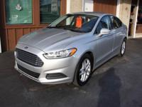 Options:  2014 Ford Fusion Se 4Dr Sedan|Silver|Our One