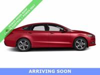*** 2014 FORD FUSION FOUR DOOR SEDAN SE WITH ONLY