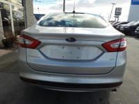 Options:  2014 Ford Fusion Se|Ingot Silver
