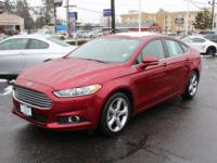 New Price! Ford Fusion Red 6-Speed Automatic. Recent