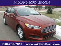 Options:  2014 Ford Fusion Se|Orange|Keyless Entry!