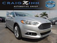 CarFax 1-Owner, This 2014 Ford Fusion SE will sell fast