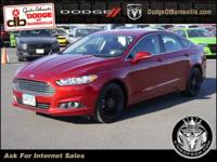 Options:  2014 Ford Fusion 4Dr Sdn Se Fwd|Navigation