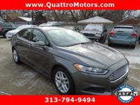 Look at this 2014 Ford Fusion SE. Its Automatic