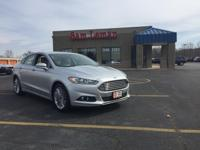 Nice 2014 Ford Fusion SE coated in Ingot Silver and