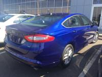Deep Impact Blue Metallic 2014 Ford Fusion SE FWD
