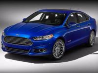 Introducing our exciting 2014 Ford Fusion SE in Deep