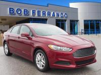 Options:  2014 Ford Fusion Se|Miles: 21374Color: Ruby