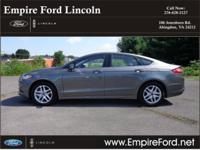 Options:  2014 Ford Fusion Se|Se 4Dr Sedan|1.5L|4