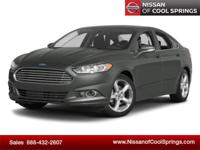 This 2014 Ford Fusion SE is a 1-Owner Vehicle with a