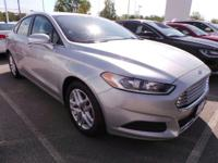 Come see this 2014 Ford Fusion SE. Its Automatic