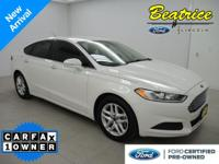 ~~~~~ This is a Ford Certified Pre-Owned vehicle, so in