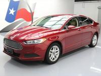 2014 Ford Fusion with Ecoboost 1.5L I4 Engine,Cloth