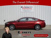 Recent Arrival! 2014 Ford Fusion SE Red EcoBoost 1.5L