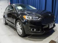 One Owner Clean Carfax Ecoboost Sedan with Steering