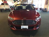 2014 FORD FUSION TITANIUM! JUST $24,988! FORD CERTIFIED