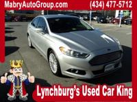 Clean CARFAX. Sterling Gray Metallic 2014 Ford Fusion