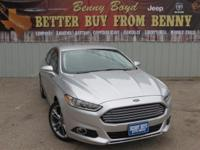 (512) 948-3430 ext.1527 This 2014 Ford Fusion Titanium