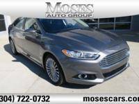 Sterling Gray Metallic 2014 Ford Fusion Titanium AWD