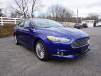 2014 Ford Fusion Titanium Blue New Price! 12 Speakers,