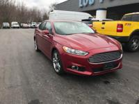 New Price! 2014 Ford Fusion Titanium Ruby Red Metallic
