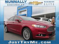 CARFAX One-Owner. Chrome 2014 Ford Fusion Titanium AWD