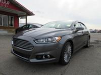 Options:  2014 Ford Fusion Navigation! Moonroof! Heated