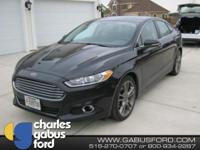One Owner and FORD CERTIFIED!!. Fusion Titanium, AWD,