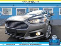 ABSOLUTELY GORGEOUS FORD FUSION TITANUM ECOBOOST SEDAN