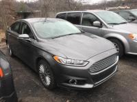 Sterling Gray Metallic 2014 Ford Fusion Titanium FWD