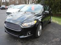 Options:  2014 Ford Fusion Titanium 4Dr Sedan|Black|If