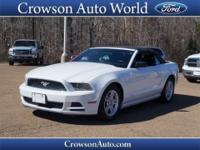 Get away in this 2014 Ford Mustang GT Premium and