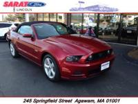 Sarat Ford is excited to offer this 2014 Ford Mustang.