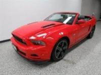 This is a Ford Certified Pre-Owned 2014 Ford Mustang: