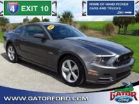2014 Ford Mustang GT Coupe with Equipment Group 401A.