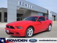 2014 FORD MUSTANG 2dr Car V6 Our Location is: Bowden
