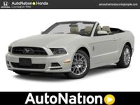 2014 Ford Mustang Our Location is: AutoNation Honda