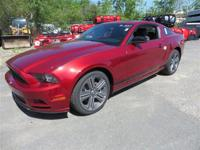 This 2014 Ford Mustang 2dr 2dr Coupe V6 Coupe showcases