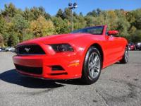 Exterior Color: race red, Body: Convertible, Engine: