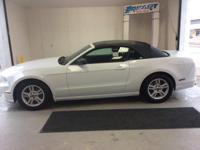 2014 Ford Mustang V6 and One Owner Clean Carfax. Come