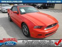 Mustang V6 Costs, 2D Convertible, Charcoal Black