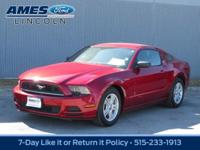 Meet our 2014 Ford Mustang V6 Coupe is proudly