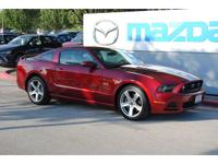 Step into the 2014 Ford Mustang! It delivers style and