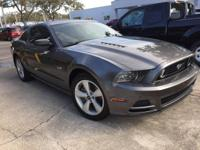 2014 Ford Mustang GT 5.0.** Gorgeous gray steed ready