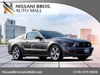 Clean CARFAX. Gray 2014 Ford Mustang GT Premium RWD